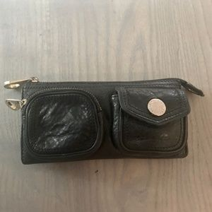 Mark Jacobs Leather Wallet Clutch